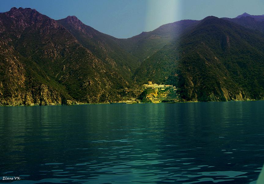 Dionysiou Monastery of Mt Athos ,Greece
