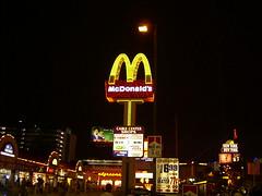 McDonald's, Mickey Dees, Mickey D's, McDonald's sign, Las Vegas,