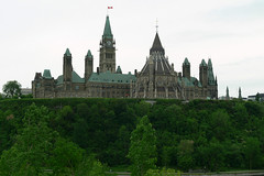 Parliament Building in Downtown Ottawa