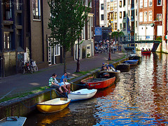Amsterdam, Holland 075 - The Venice of Norther...