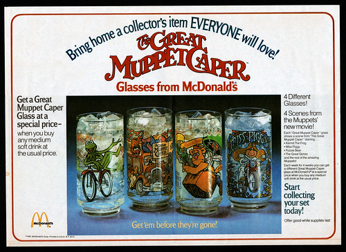 Great Muppet Caper glasses