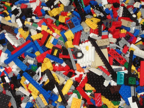 loads of Legos!