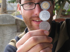 Balancing Coins in Coroico by JayTKendall on Flickr
