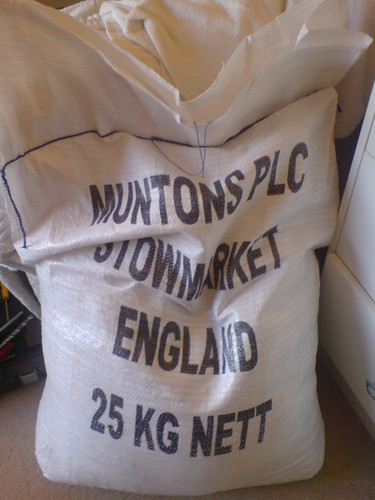A sack of future beer