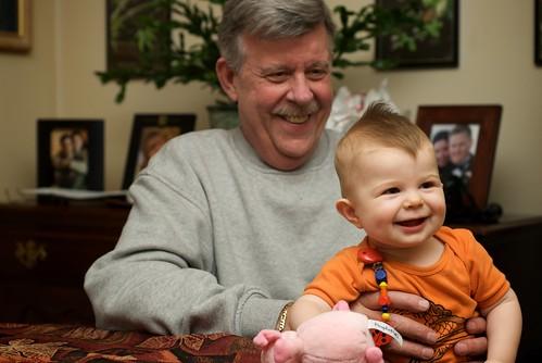 Grandpa Larry and Ellie