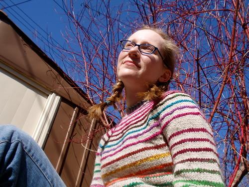 stripes! from below