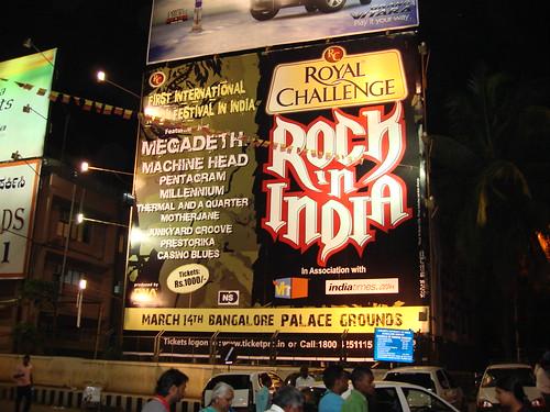 Megadeth, Bangalore