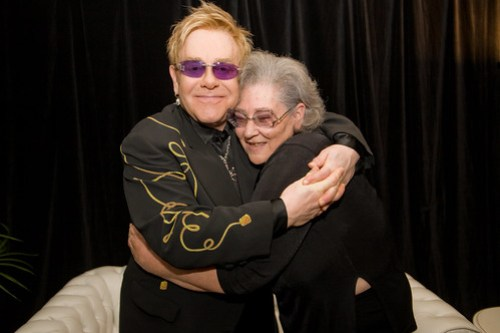 Elton John and Carole Ann King