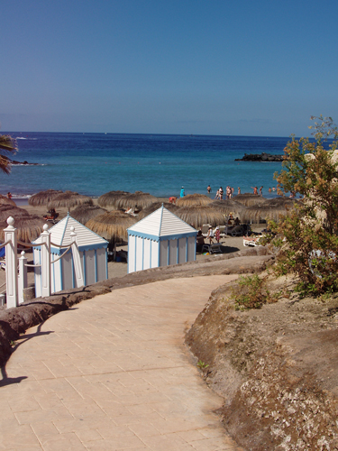 This is a stroll - PLaya del Duque