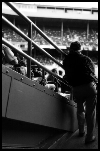 Tiger Stadium Usher 2, circa 1999