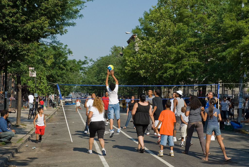 Block Party Volleyball