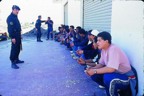 Represión policial (Almeria)