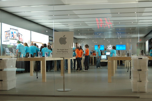 """Grand Opening"" Apple Store Calgary (Market Mall)"