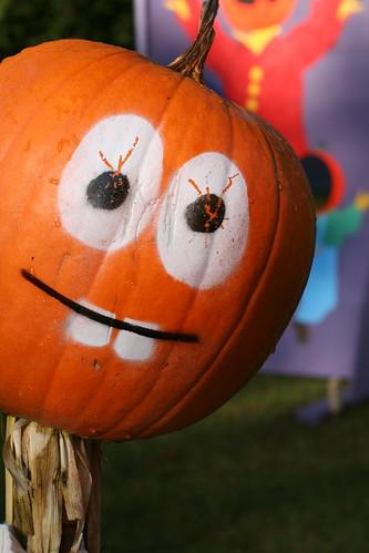 pumpkin person!