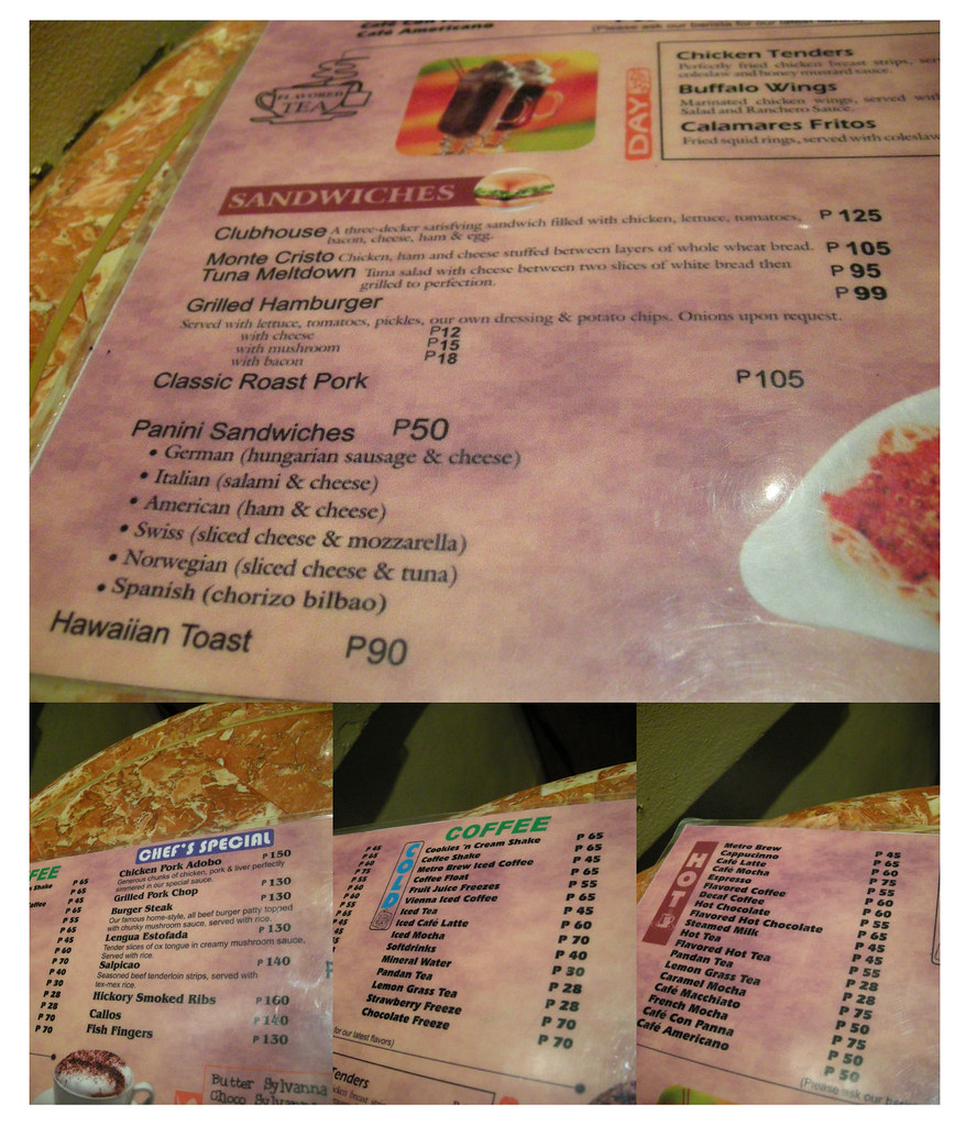 Metro Cafe - Food Prices