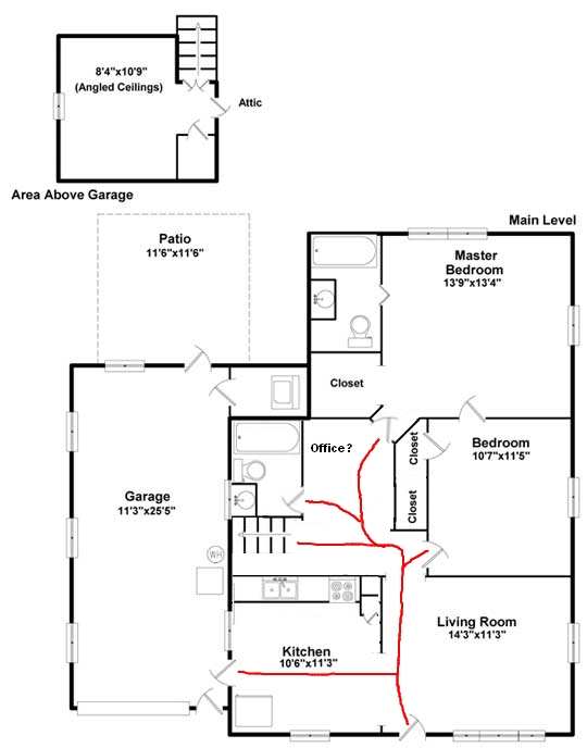 Recommend Ways To Maximize Awkward Floor Plan? — Good