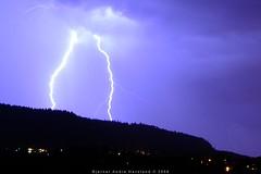 Photo of lightning.