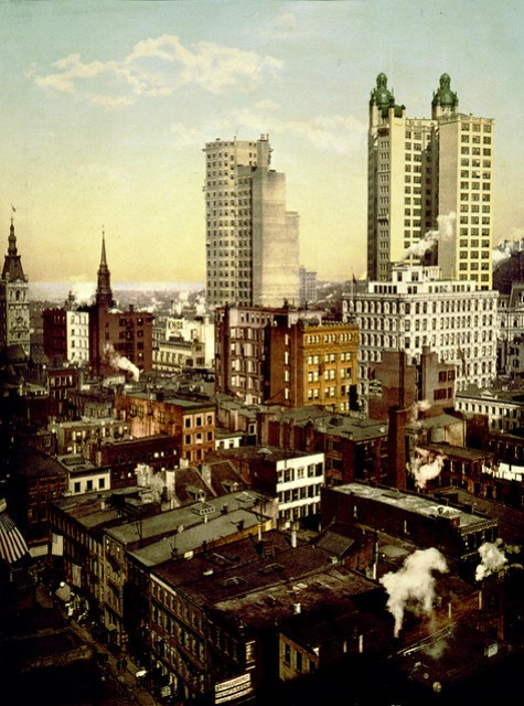 The tallest buildings in the world, New York City, 1901