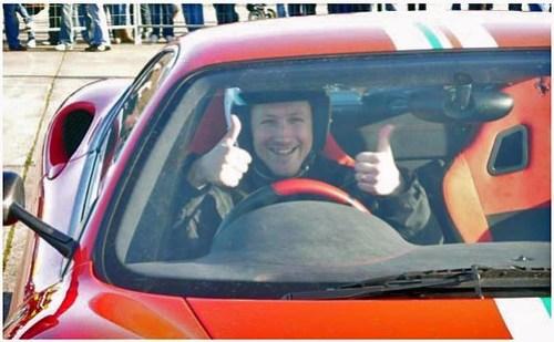Me and my Ferrari