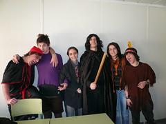 El professor Severus amb els seus alumnes
