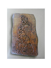 Ifil wood carving