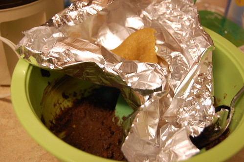 The scraps make tasty snacks, with a little bit of extra filling on top...