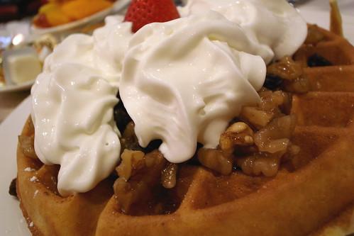 Waffle @ Morning Star Cafe