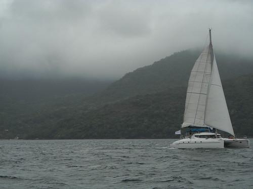 Volviendo de Ilha Grande al continente