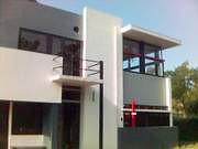 Casa Rietveld Schröder. El único edificio realizado completamente de acuerdo a los principios de De Stijl.