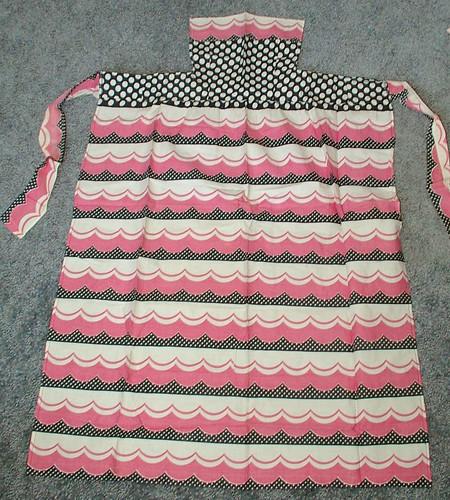 pin on bodice apron