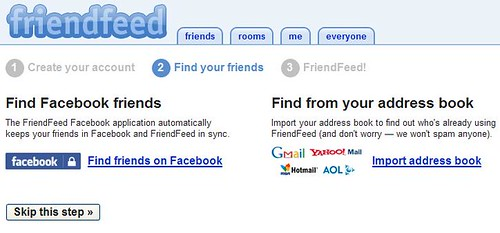 Friendfeed - Find Your Friends
