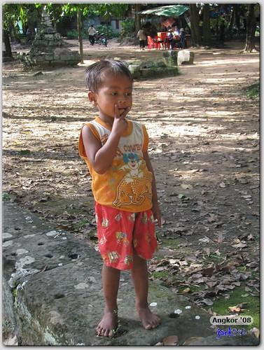 Children from the villages near Tep Pranam