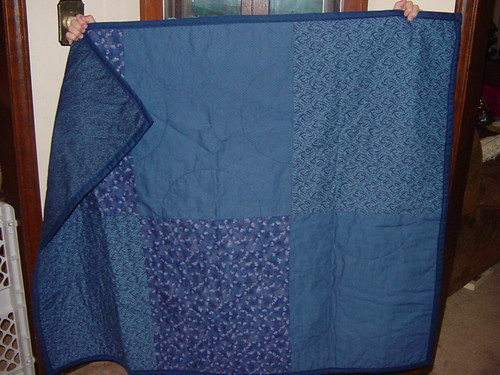 Simple Navy Quilt