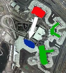 Delta/Northwest Consolidate BOS Terminals