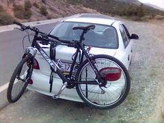car bike stand