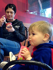mother's day - ice cream and juice boxes at co...