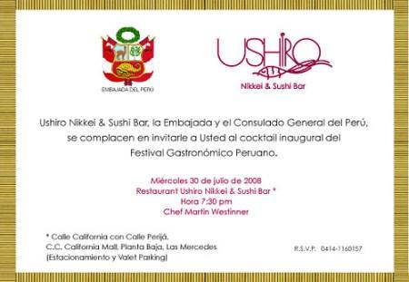 Invitacion Festival Ushiro Emb