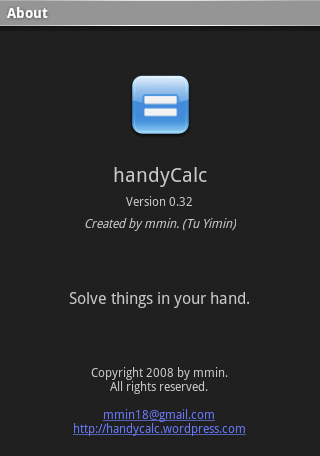 handyCalc-about