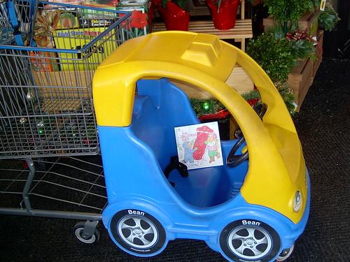 Cute grocery cart