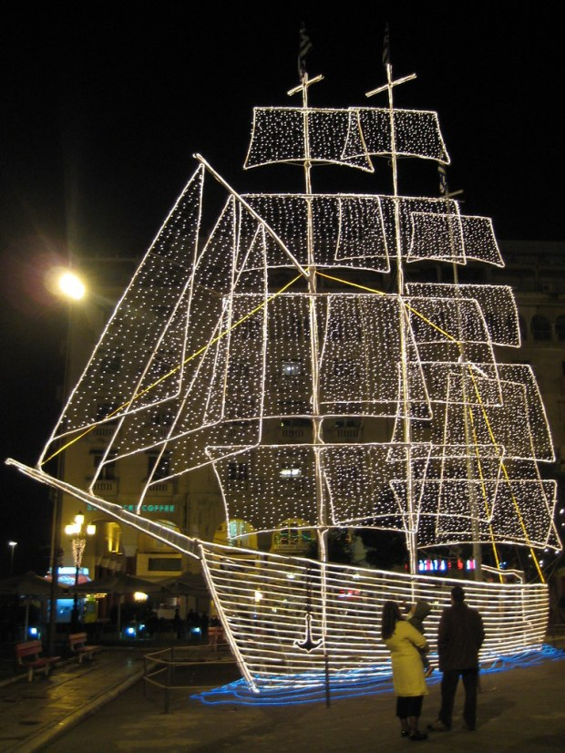 Christmas boat by petyosi, on Flickr