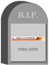 Aero California Tombstone