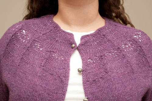 Camber Cardigan - Front Yoke