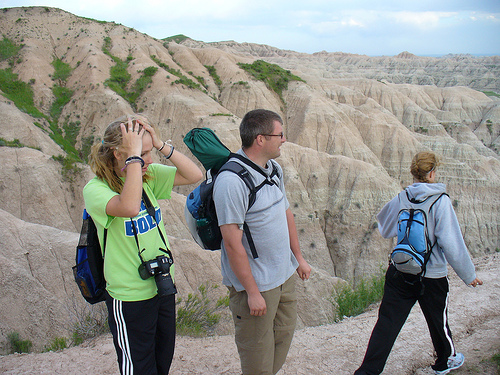 At the Badlands
