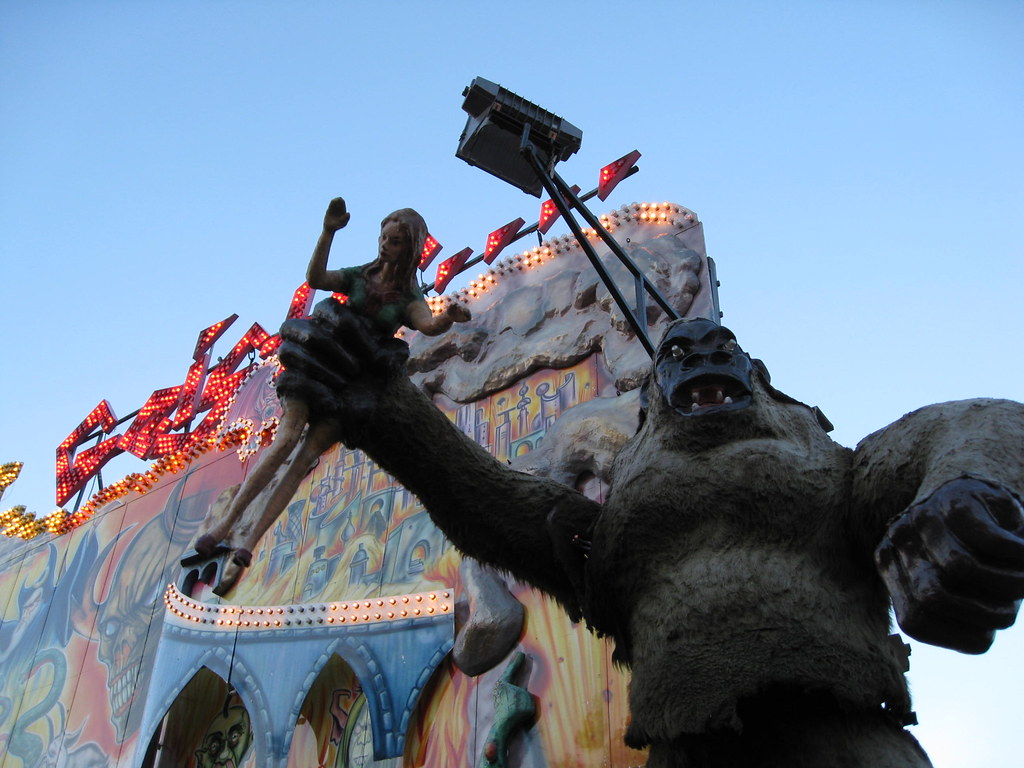 Hamburger Dom King Kong