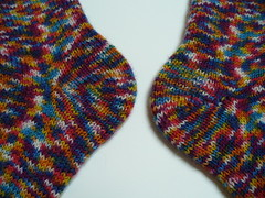 Short Row Heel