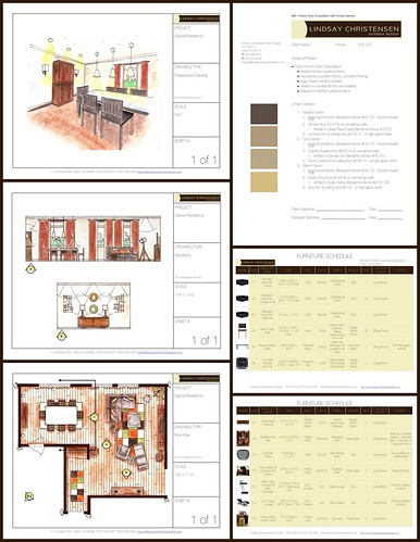Sample forms for E-Decorating Service