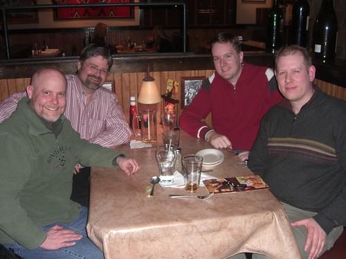 Me, Phil Hunt, Clayton Donley, Nate Owen