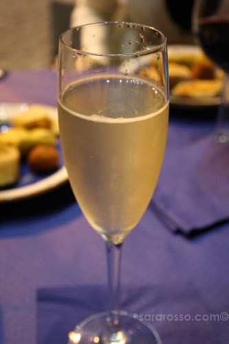 Prosecco for Aperitivo Italiano in Italy