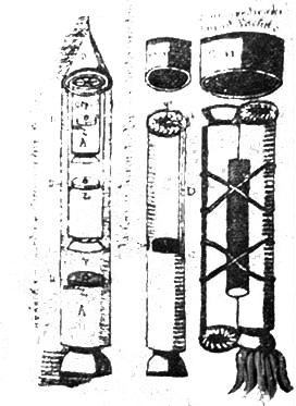 Resultado de imagen de manuscrito del cohete en el XVI