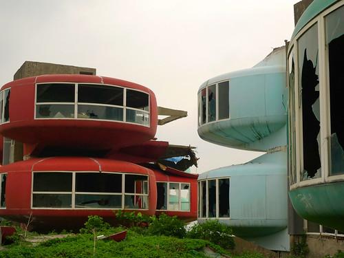 sanzhi UFO houses 057